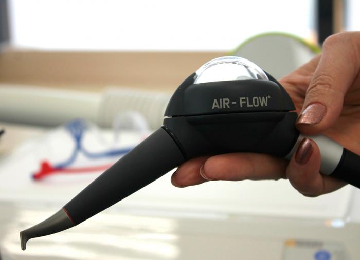 Система Air Flow или ультразвук что лучше?