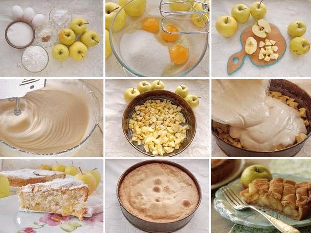 Рецепт шарлотки с яблоком: 6 простых рецептов приготовления пышной шарлотки