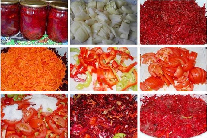Заправка для борща на зиму: 7 очень вкусных вкусных рецептов приготовления борщевой заправки