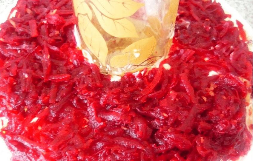 Салат гранатовый браслет 5 вкусных рецептов с пошаговыми фото