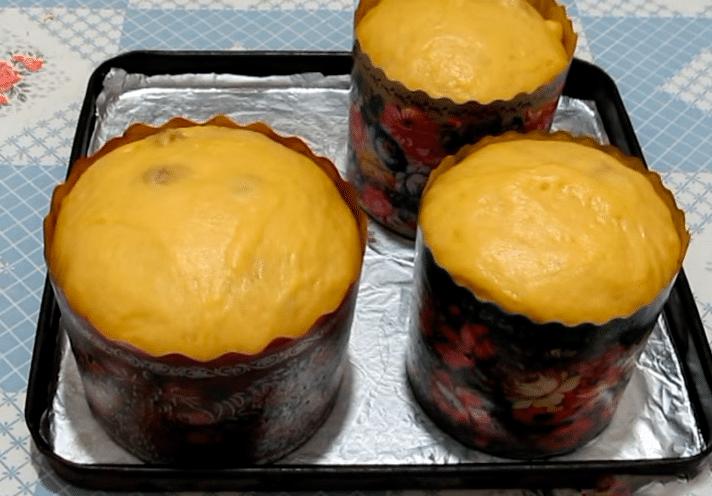 Кулич с изюмом и цукатами самые вкусные рецепты!