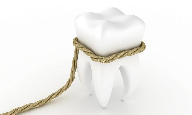 удаление зуба дома