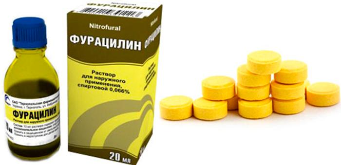 Винилин и другие антисептики при стоматите у детей