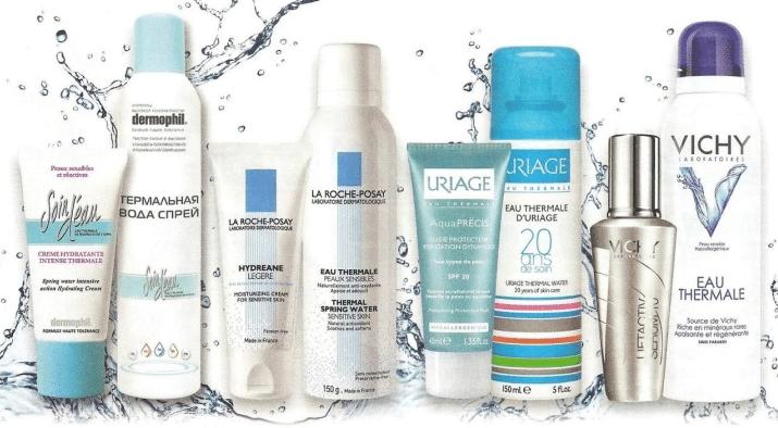 Все о косметической воде для лица