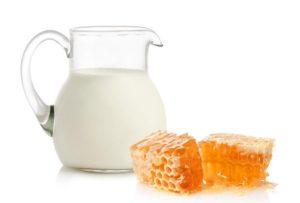 Молоко с прополисом