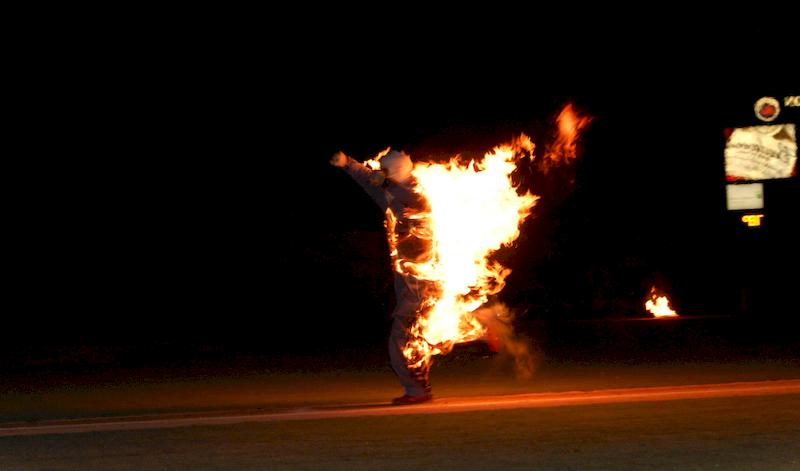 Оказание первой медицинской помощи при пожаре