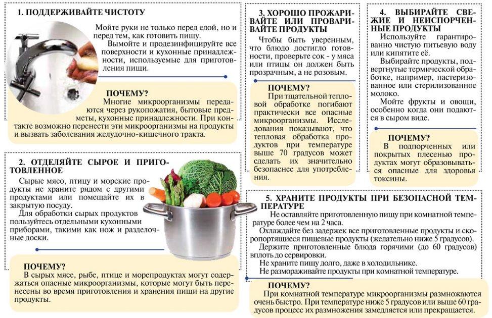 Температура при пищевом отравлении у взрослых