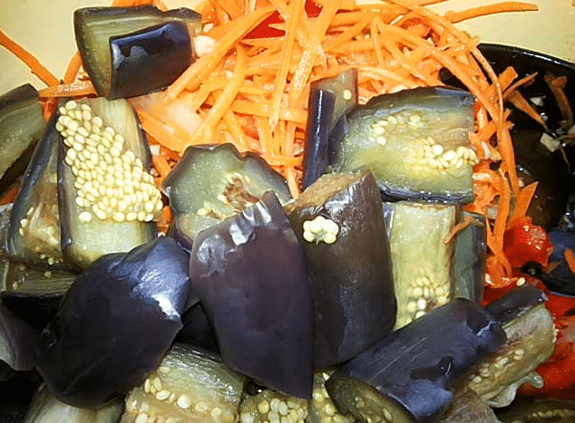 Баклажаны по-корейски 3 самых вкусных рецептов на зиму!