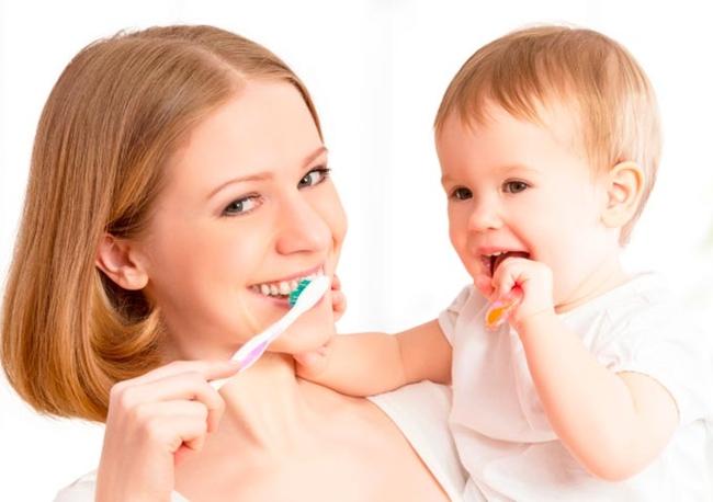 гигиена зубов у детей