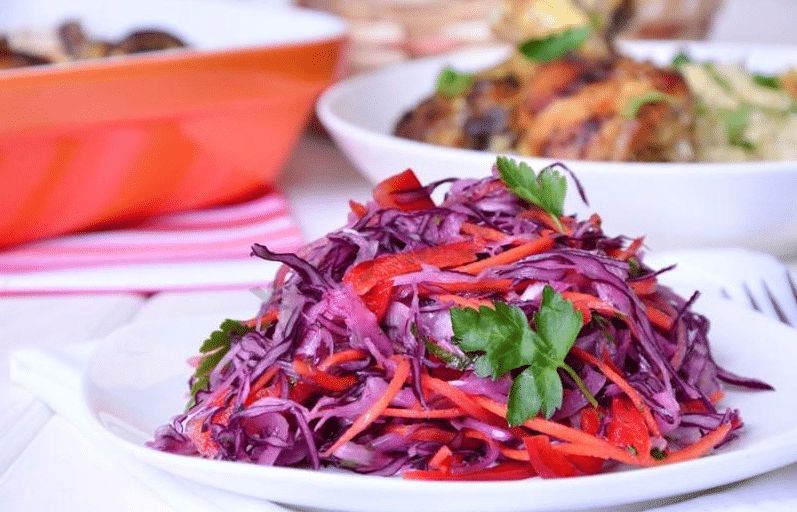 Салат из свежей капусты, рецепт с фото (очень вкусный) все тонкости приготовления в одном месте