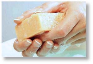 Как вывести папилломы хозяйственным мылом