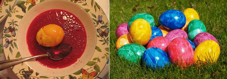 Почему на пасху красят яйца — откуда пошла эта традиция