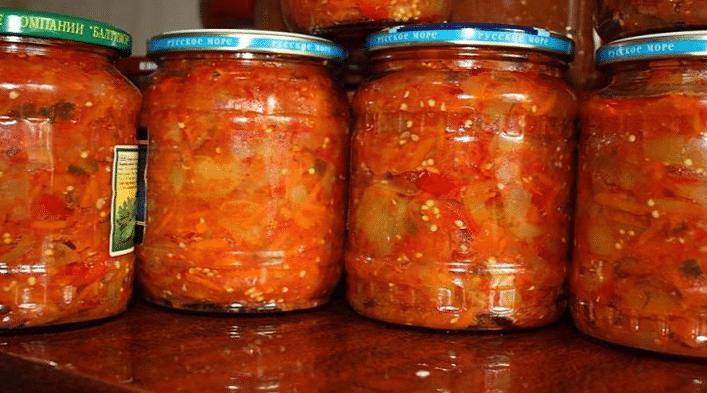 Лечо из кабачков на зиму. Самые вкусные рецепты приготовления