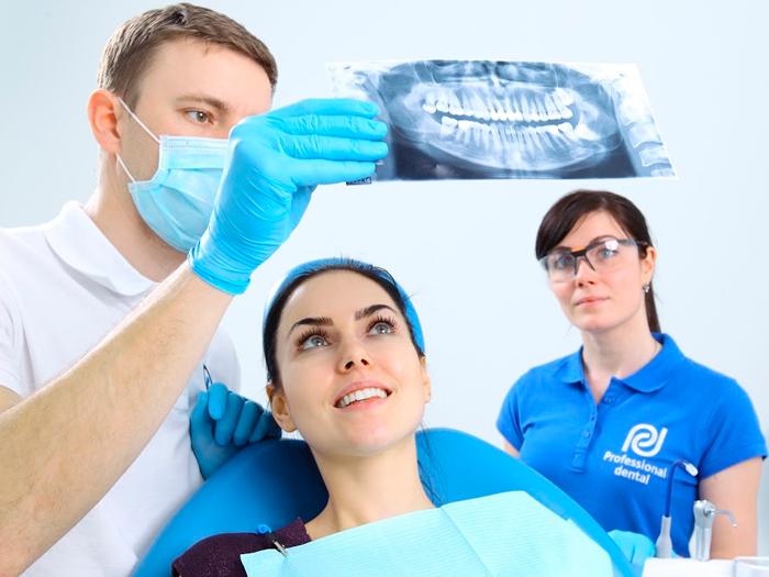 Сложное удаление зубов мудрости
