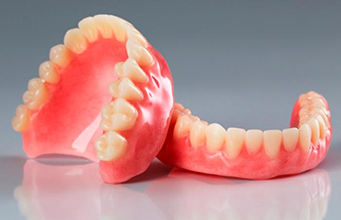 Съемное протезирование при полном отсутствии зубов