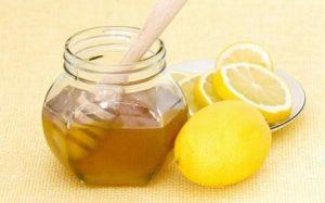 Мед, лимон и глицерин