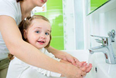 Мытье рук перед едой
