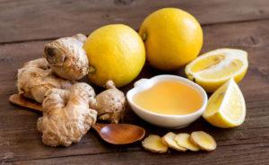 Имбирь с медом от кашля