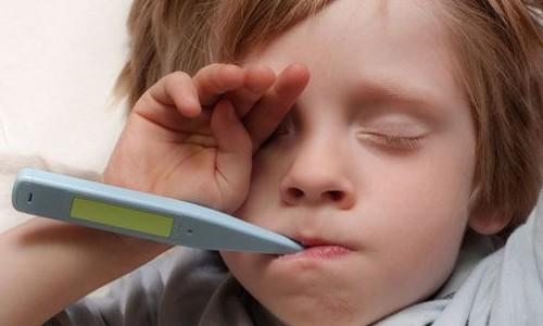 Почему не сбивается температура у ребенка?