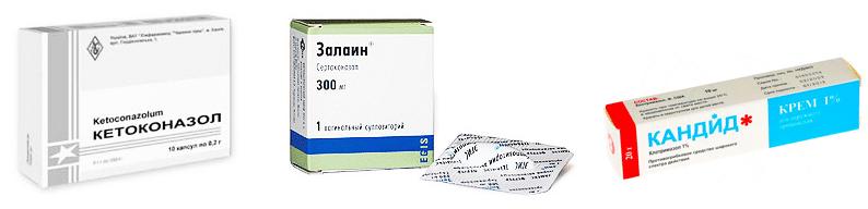 Противогрибковые препараты недорогие, но эффективные!