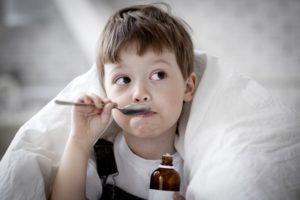 лечить кашель у ребенка по утрам после сна