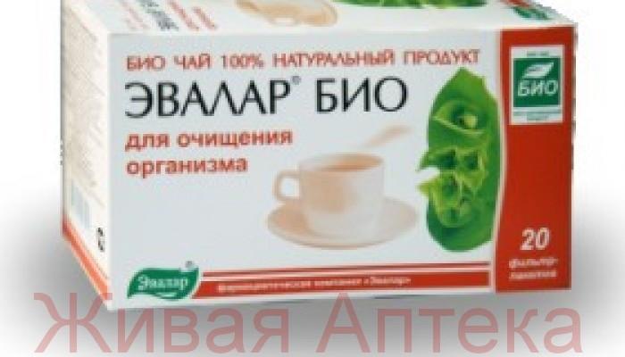 Чай эвалар - био чай для очищения организма, отзывы