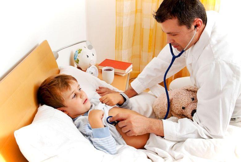 Оказание неотложной помощи при детской лихорадке