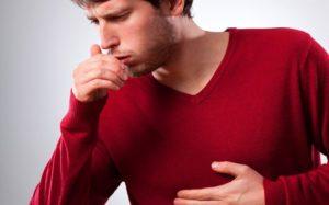 При глубоком вдохе начинается кашель
