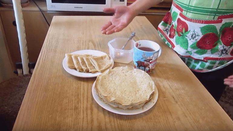 Постные блины 5 быстрых и вкусных рецепта с фото
