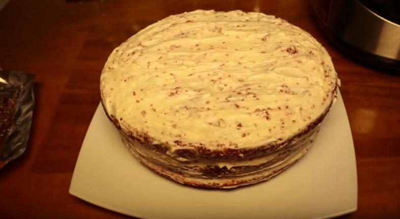 Торт красный бархат рецепт с фото пошагово!