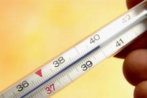 Температура 39 градусов